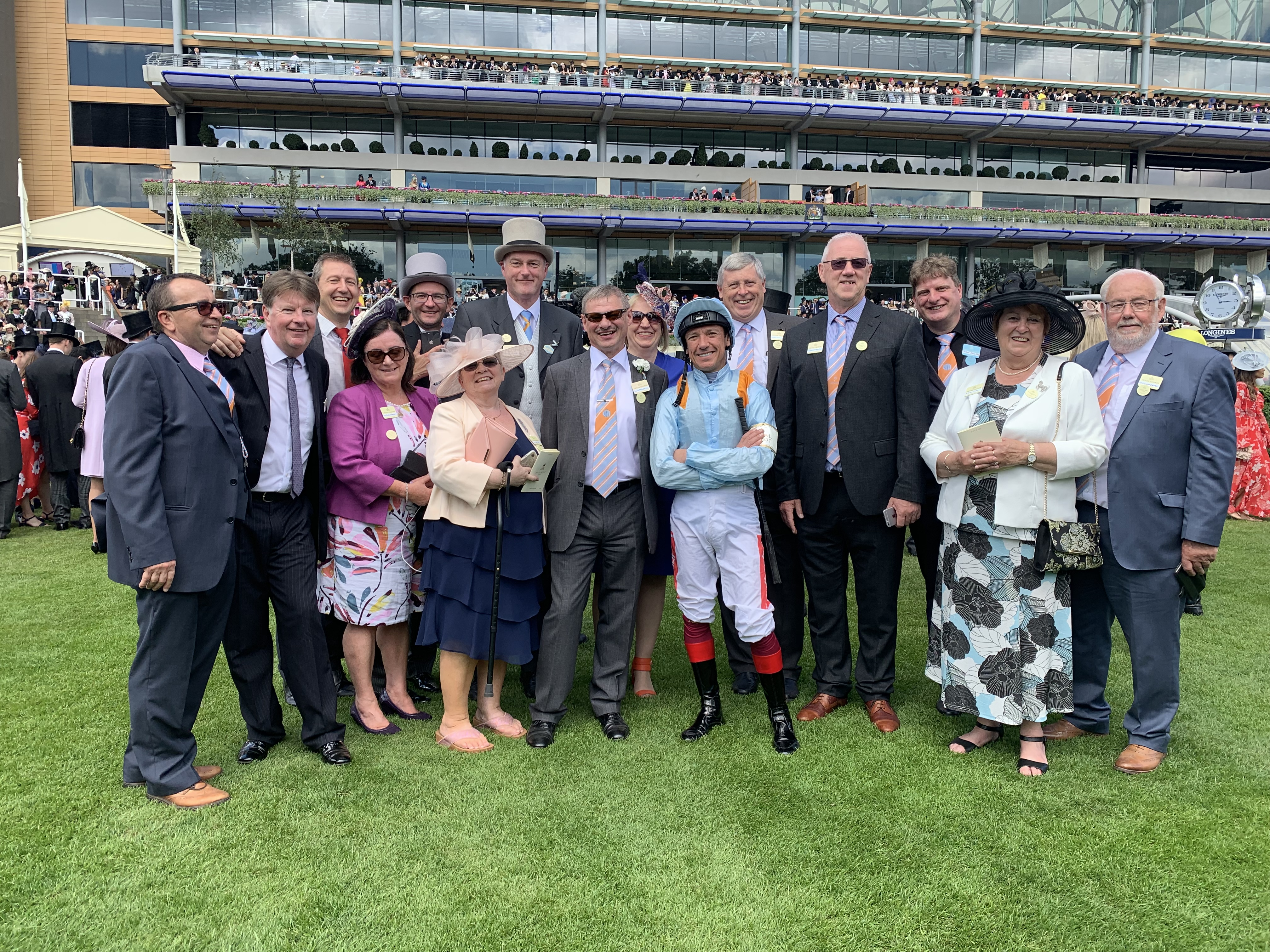 Frankie at Royal Ascot with MD owners